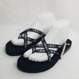 NWT Teva Black Sandals
